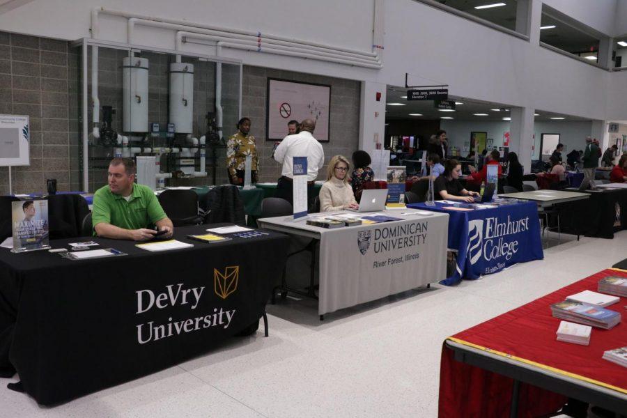 College Fair showcases opportunities